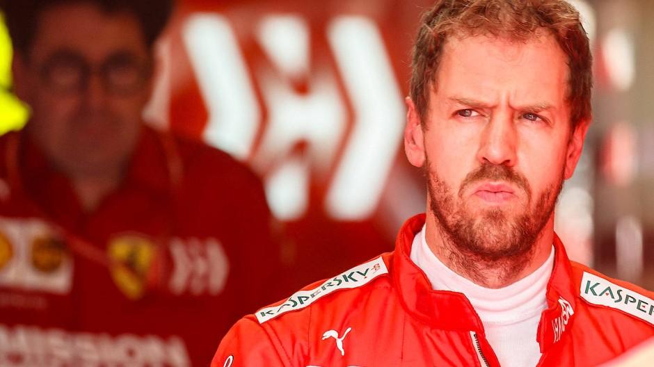 Sebastian Vettel startet von Platz vier beim Saisonfinale in Abu Dhabi.