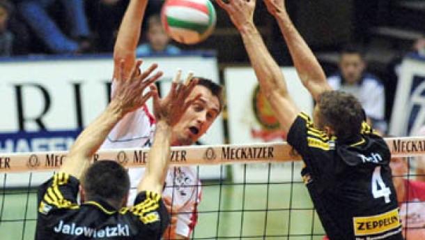 Friedrichshafen zum fünften Mal in Folge Meister