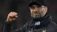 Schöner Jahreswechsel: Jürgen Klopp und der FC Liverpool sind Erster.