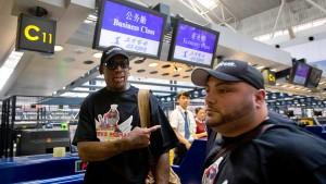 Rodman reist nach Nordkorea