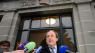 Der Uefa-Präsident kämpft: Michel Platini attackiert die Ethikkommission