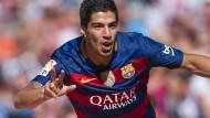 Suarez schießt Barca mit Dreierpack zum Titel