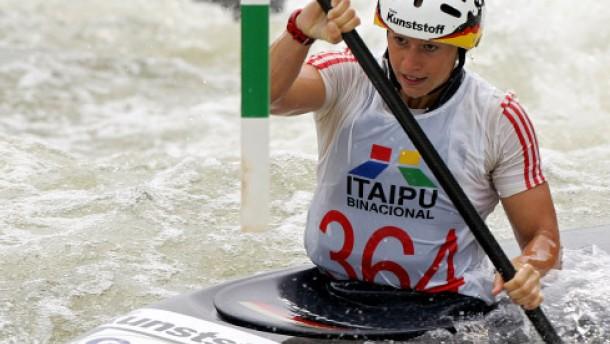 kanu slalom traumkanutin jennifer bongardt   mehr sport   faz