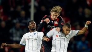 Leverkusen holt auf