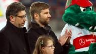 Gegner im eigenen Verein: Claus Vogt (links) und Thomas Hitzlsperger