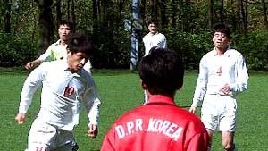 Taschengeld für Nordkoreas Kicker