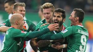 Augsburger Hinrunden-Rekord
