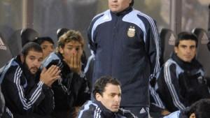 Maradonas Kopf-Chaos auch auf dem Platz