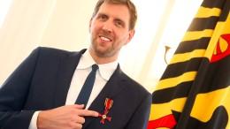 Bundesverdienstkreuz für Nowitzki