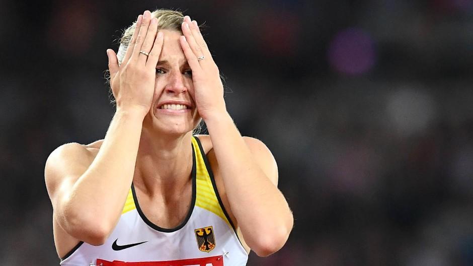 zu verkaufen riesige Auswahl an Qualität Leichtathletik-WM: Silber im Siebenkampf für Carolin Schäfer