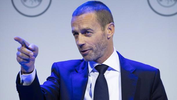 Uefa droht Fußball-Ligen mit Sanktionen