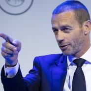 Wenig Verständnis für das Verhalten des belgischen Fußballs: Uefa-Präsident Aleskander Ceferin
