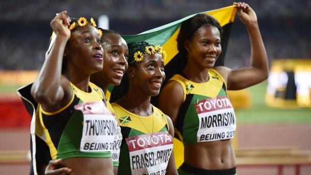 Double für Farah - Doppelsieg für Jamaika