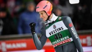 Sensations-Sieg von Skispringer Geiger