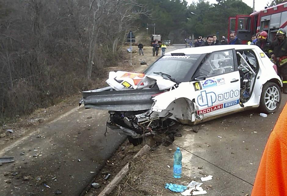 Folgenschwerer Rallye-Unfall 2011: Robert Kubica überlebt das Unglück nur knapp.