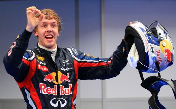 Taktgeber: Sebastian Vettel ist und bleibt die Nummer eins in Malaysia
