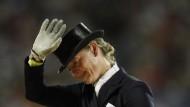 Auf Wiedersehen 2010: Isabell Werth muss eine Dopingsperre absitzen - fern ihrer Pferde