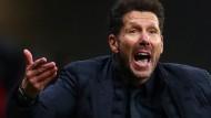 Gestörte Vorbereitung: Atlético-Trainer Diego Simeone