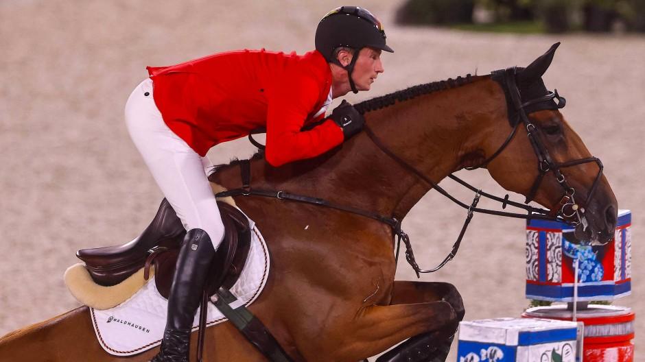 Der Weltranglisten-Erste Daniel Deußer springt mit Killer Queen ins Finale.