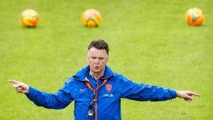 Oranje mit und ohne van Gaal