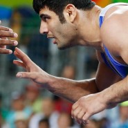 Wettkämpfe verboten: Iraner wie der Ringer Alireza Mohammad Karimimachiani sollen nicht gegen Israelis antreten.