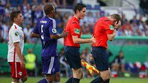 DFB wertet abgebrochenes Pokalspiel für Leipzig