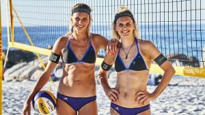 Zehn deutsche Teams bei der Beach-Party