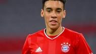 Jamal Musiala wurde erst vor kurzem 18 Jahre alt und darf nun zur deutschen Nationalmannschaft.