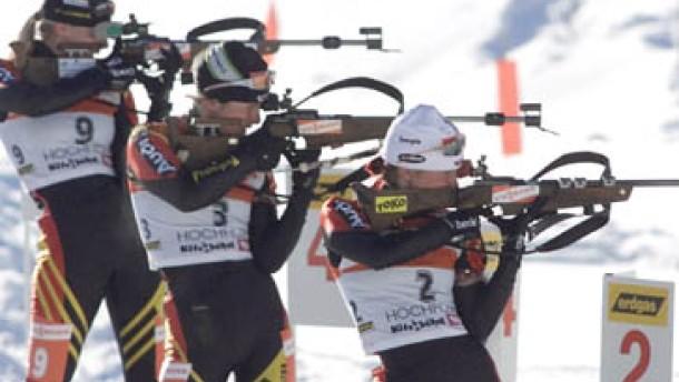 Deutsche Staffel siegt ohne zwei Olympiasieger