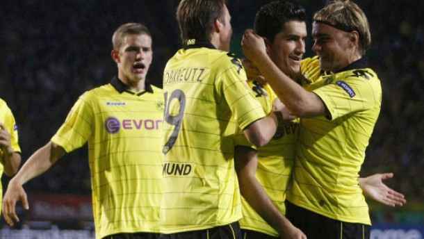 Götze rettet Dortmund