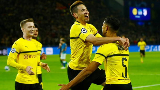 Der BVB knackt das Atlético-Schloss