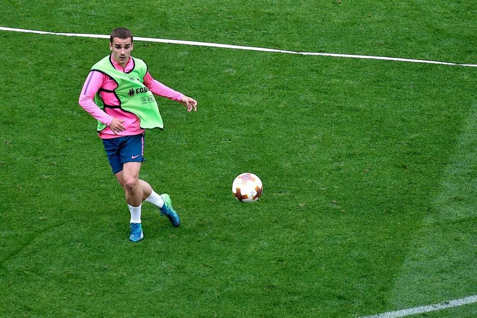 Das letzte große Spiel für Atlético: Antoine Griezmann steht vor einem Wechsel nach Barcelona