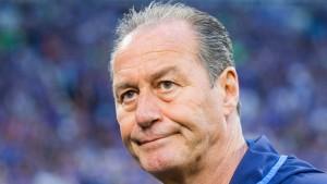 Selbst Huub Stevens verzweifelt an Schalke