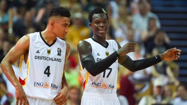 Basketballer mit Sorgen in letzte Tests