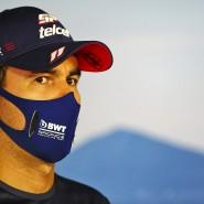 Sergio Perez: Erst mal in Quarantäne.