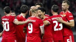 Wie schlägt sich Union bei Feyenoord?