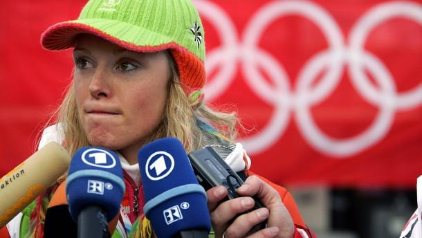 Tränen und Schutzsperre bei Olympia 2006