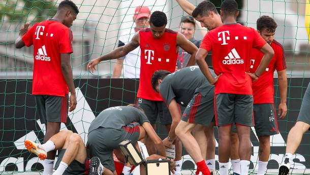 Ribéry muss Bayern-Einheit abbrechen