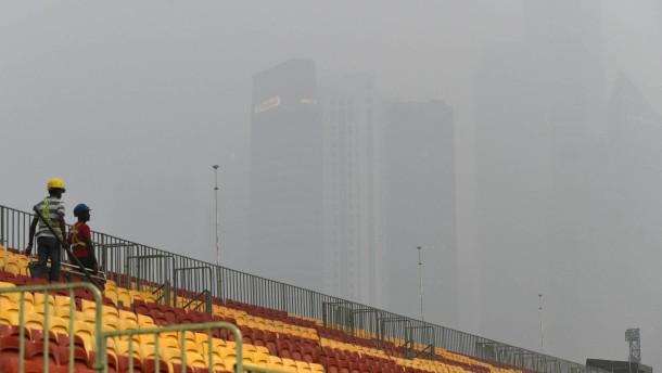 Formel 1 versinkt im Nebel