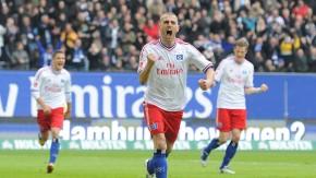 Mladen Petric brachte Hamburg mit einem Elfmeter in Führung