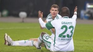 Wolfsburg erholt sich nicht von Zamoras Blitztor