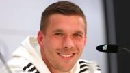 Jetzt sprechen Podolski und Löw im Livestream