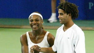 Serena Williams, James Blake ap