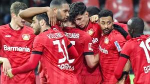 Leverkusen siegt souverän