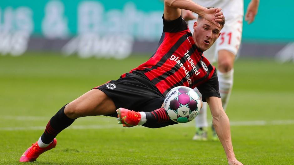 Ajdin Hrustic bei seinem Treffer gegen Mainz 05