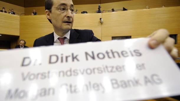 Dirk Notheis war als Deutschland-Chef von Morgan Stanley im Sommer gegangen - nun hat er eine neue A