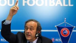 Platini weist Korruptionsvorwürfe zurück
