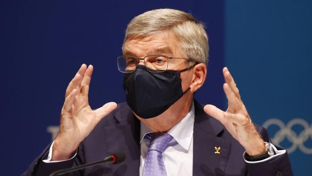 Klare Worte von IOC-Präsident Bach an die Japaner