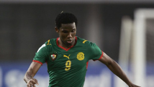 Zwei Tore von Eto'o: Kamerun im Viertelfinale