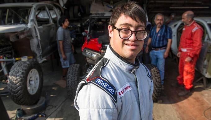 Trotzt allen Hindernissen: Lucas Barron nimmt an der Rallye Dakar teil.